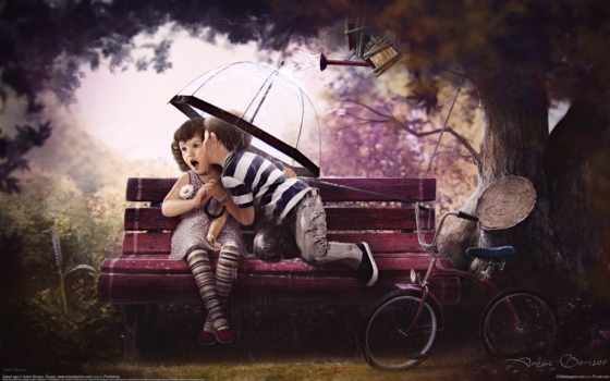 love, питомник, children, дерево, февр, сладкое, bike, age,