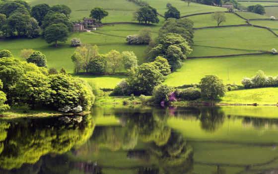 красивые, природа, природы, города, очень, сказочных, видами, живописно,