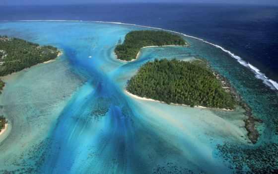 океания, острова, moorea, остров, островов, тихого, french, полинезия,
