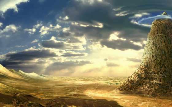 вавилонская, turret, легенду, вавилонской, башне, которую, знает, вероятный, каждый, существовали,