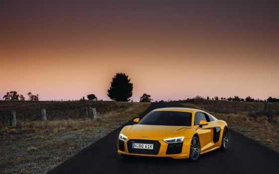 ауди, yellow, plus, суперкар, авто, iphone, машины, суперкар,