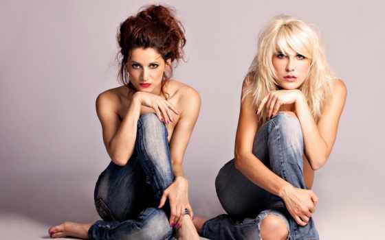 devushki, user, уже, девушка, джинсах, день, color,