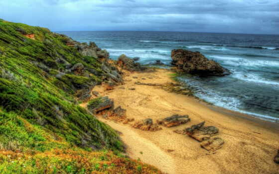 качество, пляж, природа, high, ultra, тв, wide