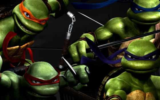 ninja, turtles, mutant