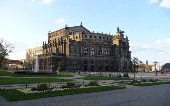 dresden, ipad, semperoper