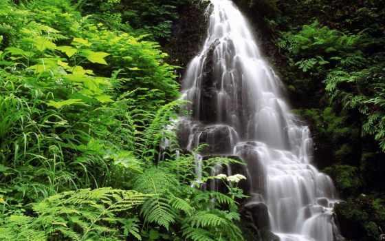 водопад, waterfalls, природа