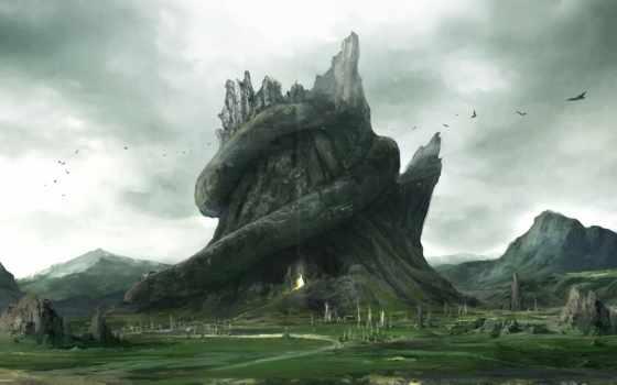 пещера, art, stump
