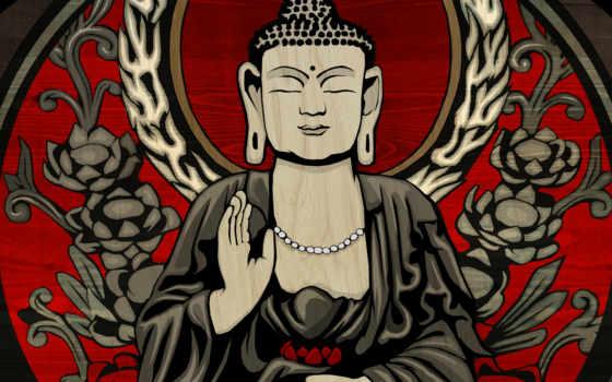 буддизма, buddha, символы, рисунок, боги, astrostar, дома, товар, буддизм, drawing, меру,
