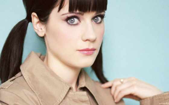 deschanel, zooey, she, new, warner, девушка, time,