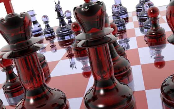 chess, доска, фигуры