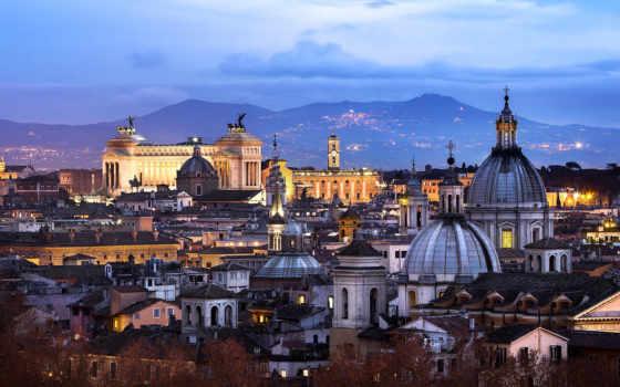 рим, italy, vatican, город, architecture,