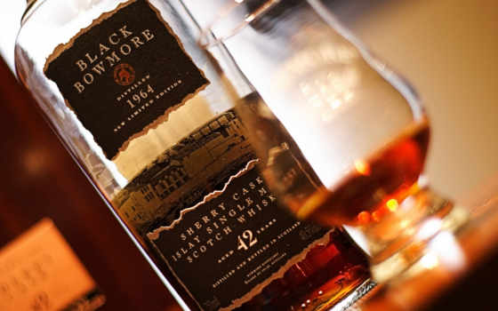 whisky, bowmore, black, images,