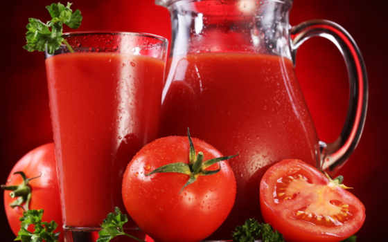 tomate, jus, suco