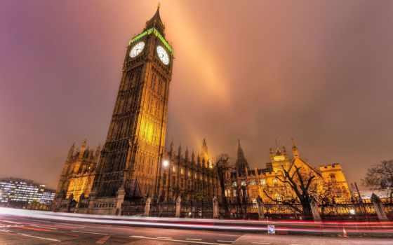 london, биг, биг, город, бен, londone, ночь,