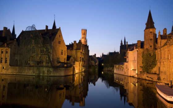 города, дома, бельгия