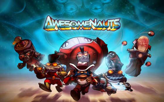 awesomenauts, игры, video
