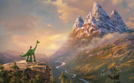 динозавр, хороший, desktop