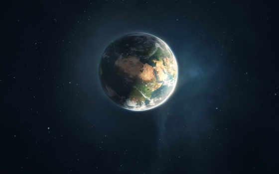 land, день, ночь, cosmos, planet, звезды, earth, земле, луна, искусства,