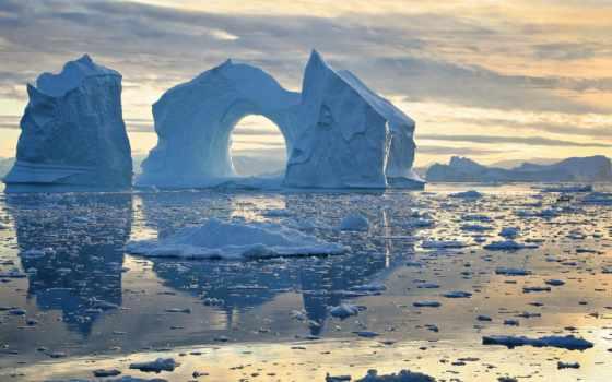 лед, гренландия, гренландии, cover, bay, disko, об, новости, фактов,