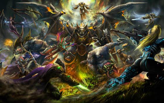 heroes, буря, nova, starcraft, diablo, terra, warcraft, sarah, wow, blizzard, керриган,