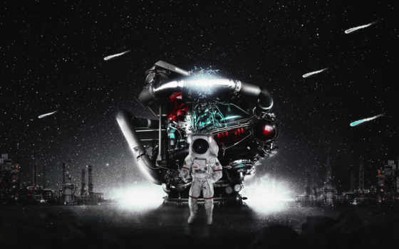 астронавт, космос, america, iphone,