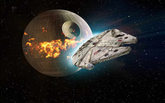 falcon, star, war, millennium, millenium, космос, revell, модель, kit