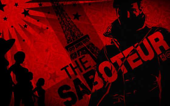 saboteur, games, фотографии, tapety,