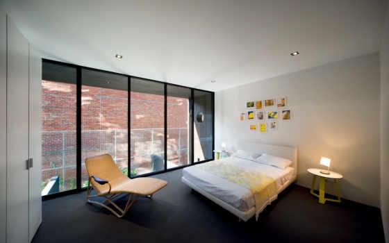 интерьер, спальня, кровать