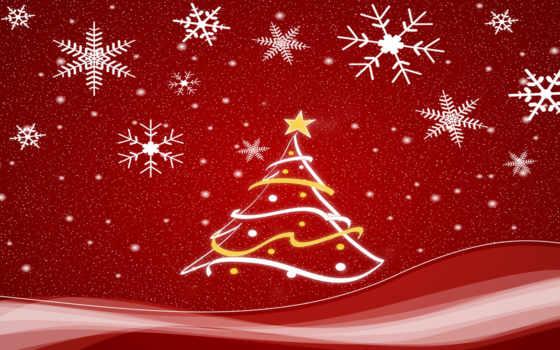 christmas, winter, high, trees, desktop, качество,