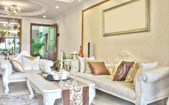 интерьер, design, гостиной