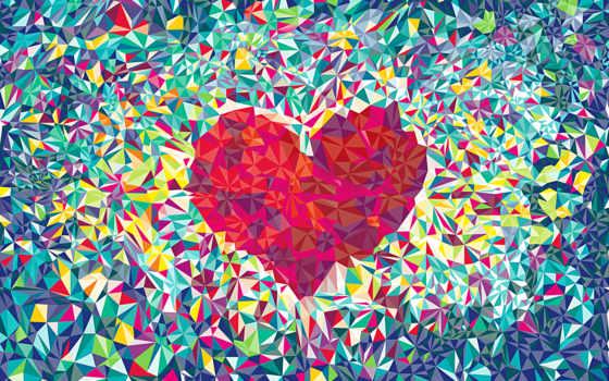 love, сердце, абстракция