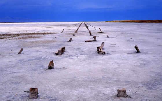 озеро, salt, utah, state, park, great, назад, день, город