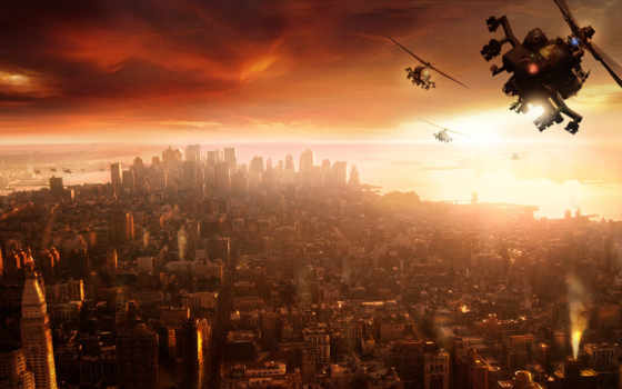 prototype, игра, вертолет, city,