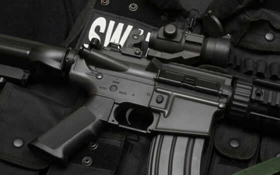 оружие, машина, винтовка