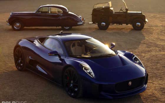,jaguar, hybrid, prototype, глубой, car,