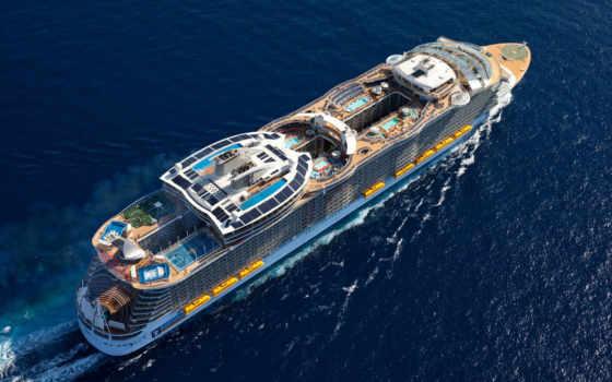 seas, harmony, royal, caribbean, оазис, корабль, лайнер, newest,