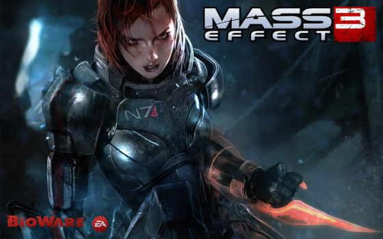 mass, effect, shepard, игры,
