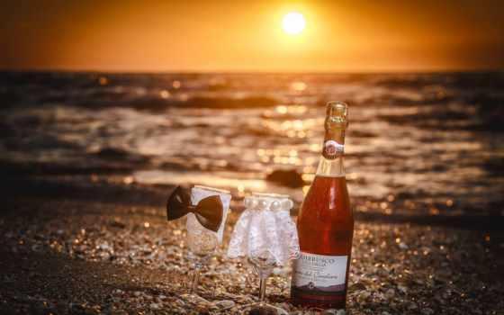 casamento, вино, casamentos, que, love, шампанское,