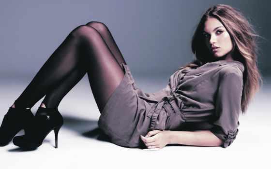 женщины, чулках, укладка, спина, чулки, models, колготках, stockings, табличка, women,