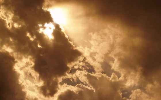 фон, clouds, облако