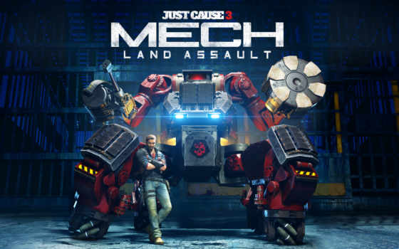 mech, just, cause, land, assault, дополнения, дополнение,