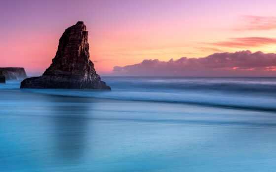 море, silent, mac, фон, природа