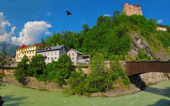 горы, природа, австрия