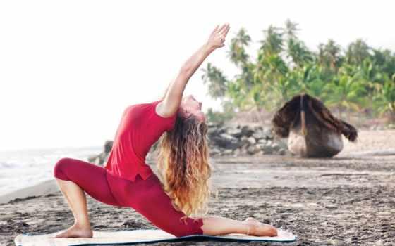 йога, спорт, девушка, поза, пляж, images, ashtanga,