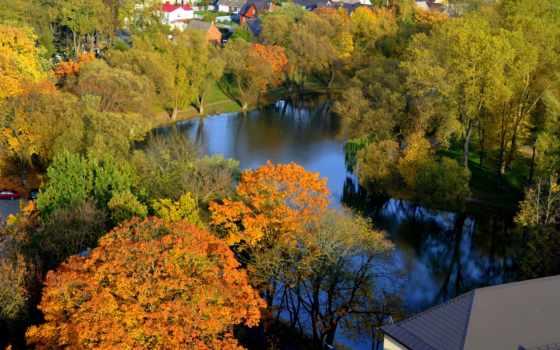 литва, природа, коллекция, осень, time, красивый