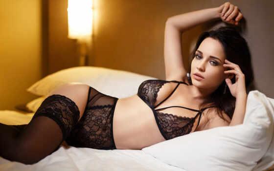 белье, девушка, lower, красивый, brunette, сексуальный, detailed, коллекция