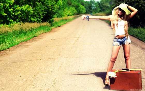 devushka, автостопа, парень, идеальным, сочетанием, para, является, param, доверия, лучше, еще,