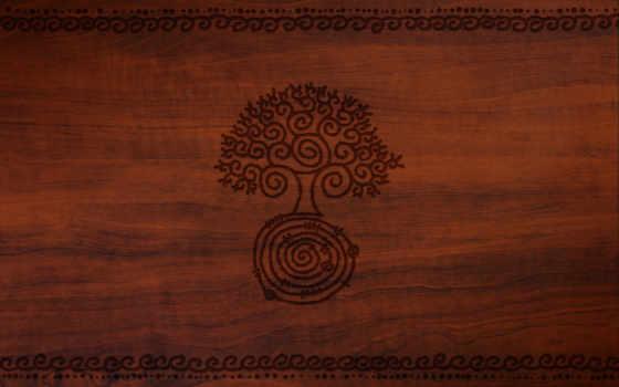рисунок, дерево
