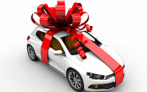 you, new, with, авто, car, christmas, stock, gift,