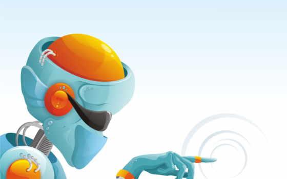 robot, вектор, минимализм Фон № 122729 разрешение 1600x1200